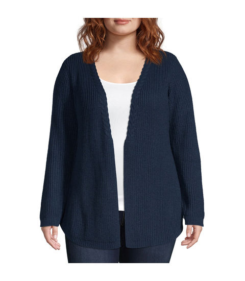 Unity One World Cable Trim Cardigan - Plus