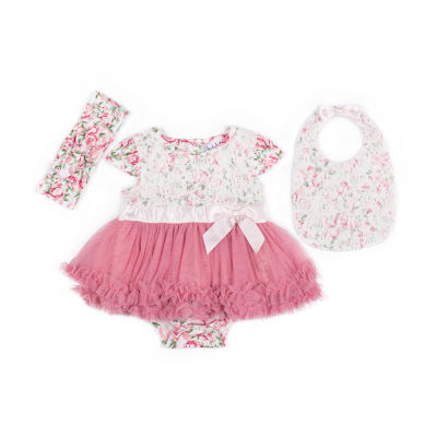 Nicole Miller 3-pc. Layette Set-Baby Girls