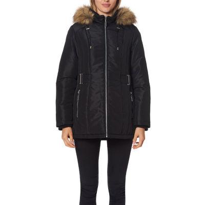 Liz Claiborne Woven Heavyweight Puffer Jacket
