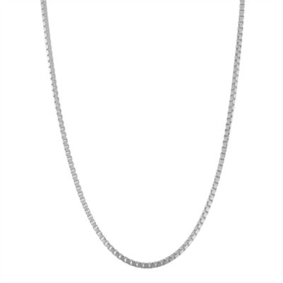18 Inch Solid Box Chain Necklace