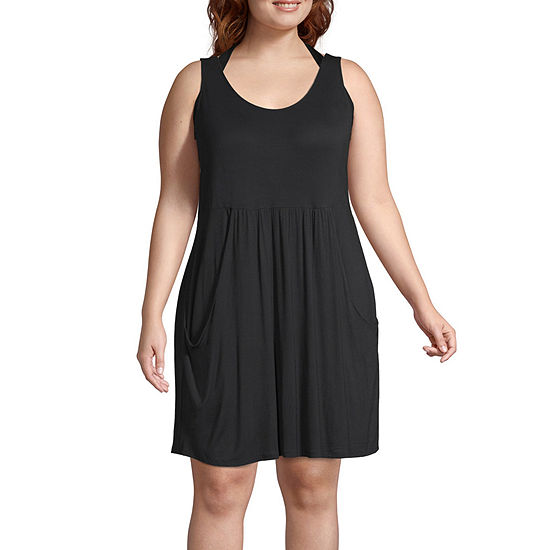 112c9becd012d a.n.a Swimsuit Cover-Up Dress-Plus - JCPenney