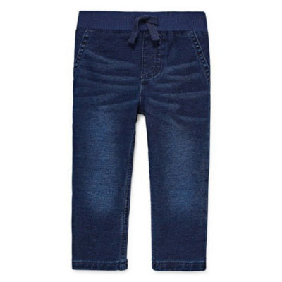 Okie Dokie Medium Wash Denim Pant - Baby Boy NB-24M