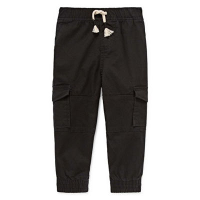 Okie Dokie Cargo Jogger Pull-On Pant - Baby Boy NB-24M