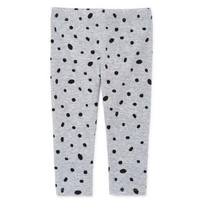 Okie Dokie Speckled Print Legging - Baby Girl NB-24M