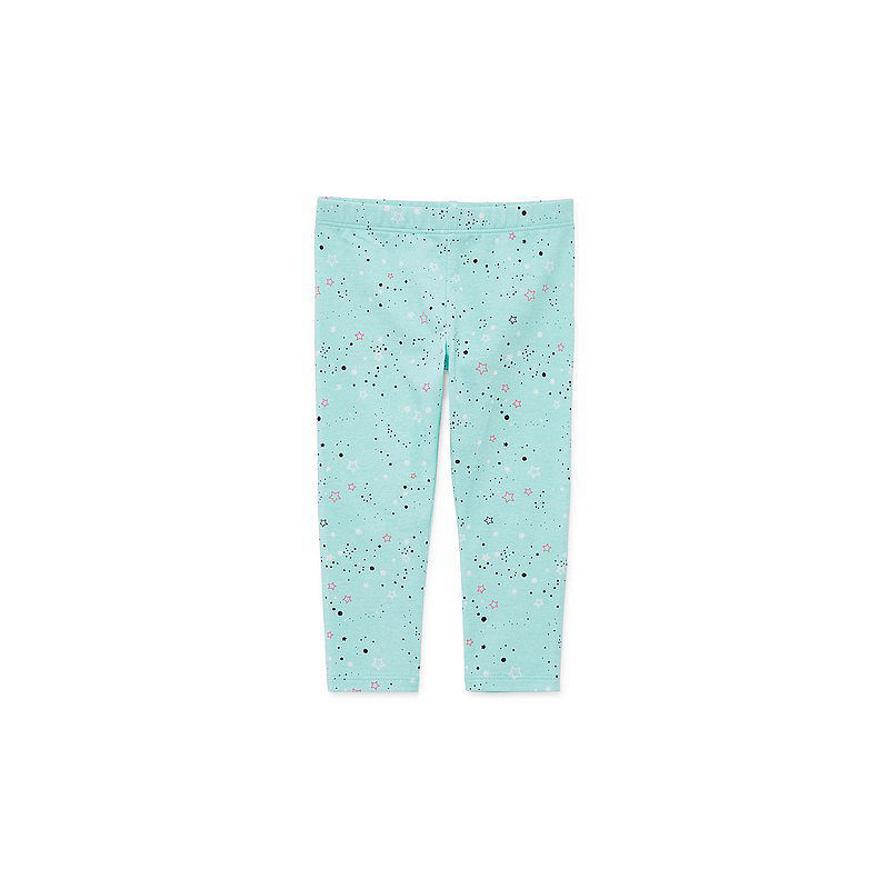 Okie Dokie Splatter Print Legging – Baby Girl NB-24M