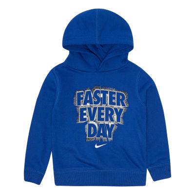 Nike Long Sleeve Hoodie-Toddler Boys