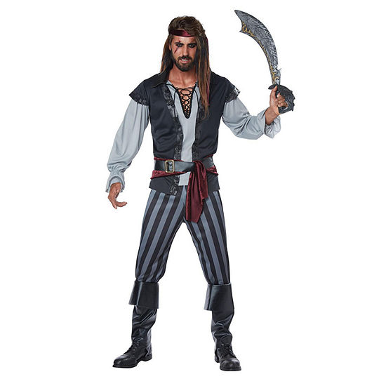 Scallywag Pirate Adult Mens Costume