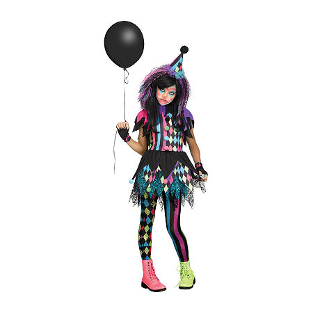 Twisted Circus Child Costume Girls Costume Girls Costume, Large , Multiple Colors