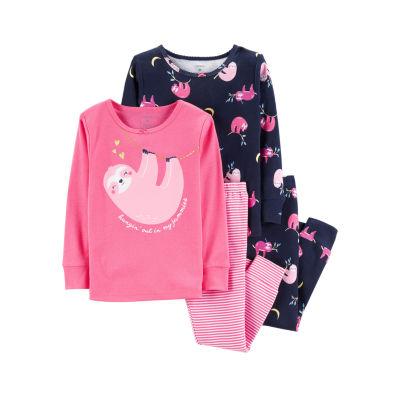 Carter's 4-pc. Pajama Set - Toddler Girls