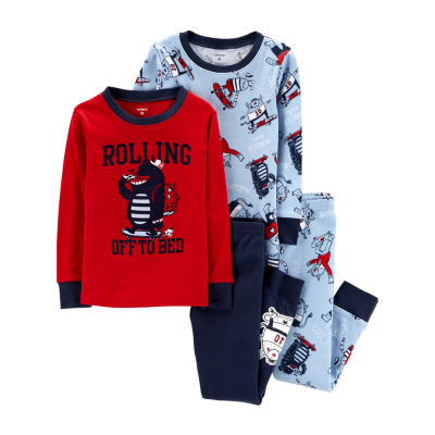 Carter's 4pc Skateboard Pajama Set - Toddler Boy