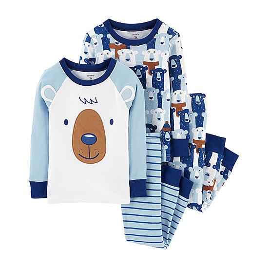 7ef4789703ea Carter s 4pc Bear Pajama Set - Toddler Boy