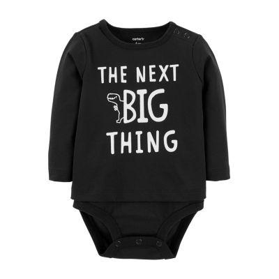 Carter's Doubledecker Big Dino Bodysuit- Baby Boy