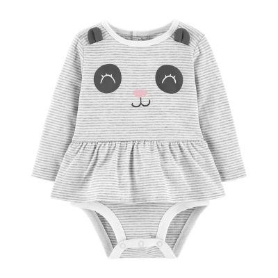 Carter's Doubledecker Panda Bodysuit- Baby Girl