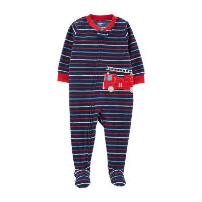 Carter's Long Sleeve One Piece Pajama-Baby Boys