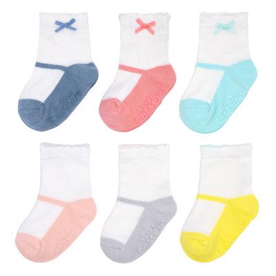 Carter's Ballerina 6 Pack Crew Sock - Baby Girl