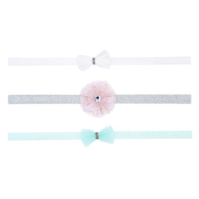 Carter's 3 Pack Tulle Headwraps - Baby Girl