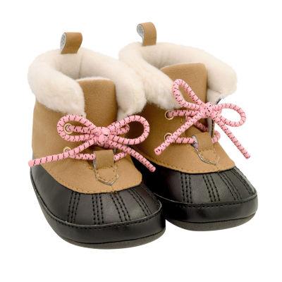 Carter's Brown Duck Boot - Baby Girl