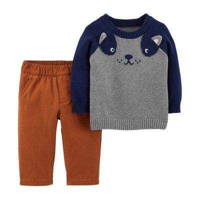 Carter's 2pc Sweater Pant Set - Baby Boy