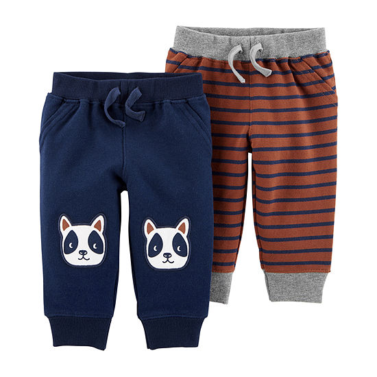 805dcaf02 Carters Pull On Pants Boys JCPenney