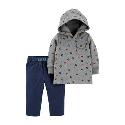 Carter's 2pc Hoodie Set- Baby Boy