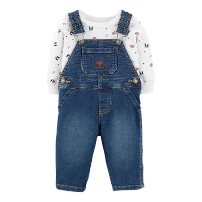 Carter's 2pc Overall Set - Baby Boy
