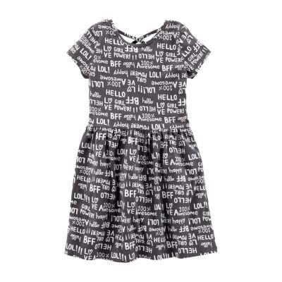 Carter's Short Sleeve A-Line Dress - Girls