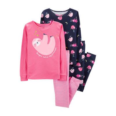 Carter's 4-pc. Pajama Set - Preschool Girl