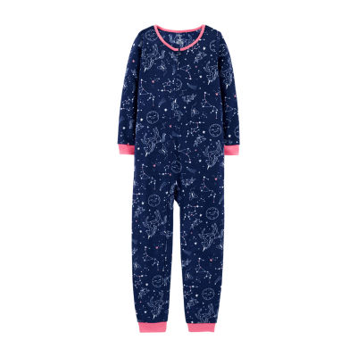 Carter's Psb Flc 1pc One Piece Pajama-Preschool Girls