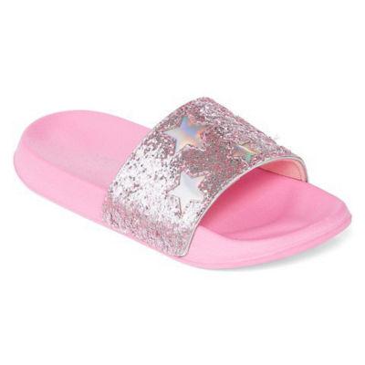 Capelli of N.Y. Slide Sandals Girls