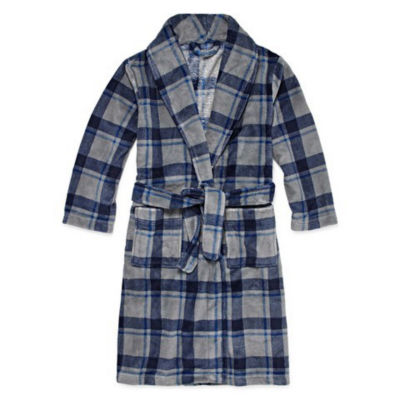 Arizona Fleece Long Sleeve Knee Length Robe - Boys