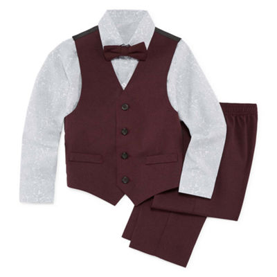Van Heusen 4-pc. Suit Set Boys 4-10
