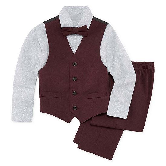 Van Heusen 4-pc. Suit Set Boys 4-10
