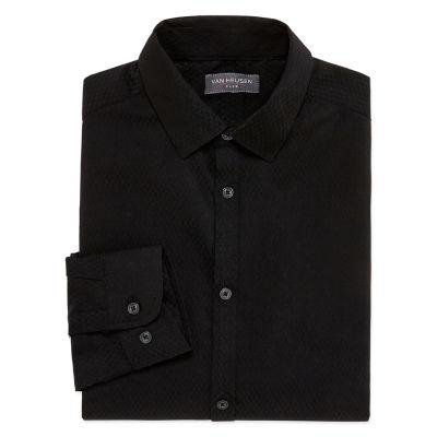 Van Heusen Long Sleeve Shirt Regular & Husky - Boys 8-20