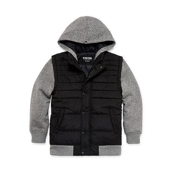 Zoo York Boys Hooded Heavyweight Puffer Jacket Big Kid