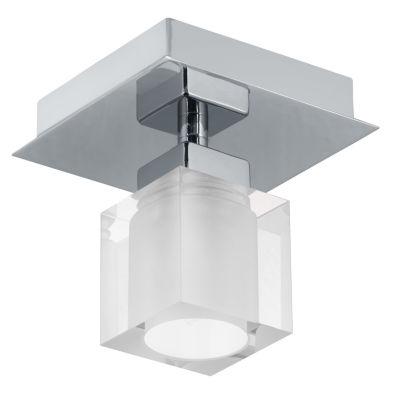 Eglo Bantry 1-Light 5 inch Matte Nickel Wall Light
