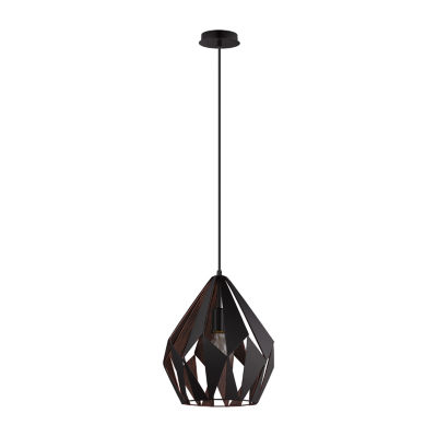 Eglo Carlton I 1-Light 12 inch Pendant Ceiling Light