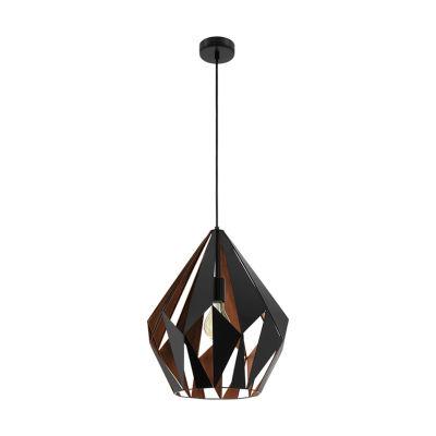 Eglo Carlton I 1-Light 15 inch Pendant Ceiling Light