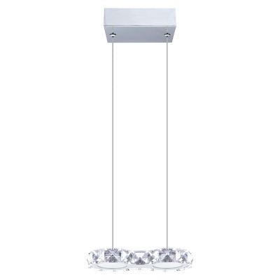 Eglo Corliano LED 4 inch Chrome Pendant Ceiling Light