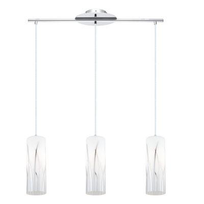 Eglo Rivato 3-Light 6 inch Chrome Pendant CeilingLight