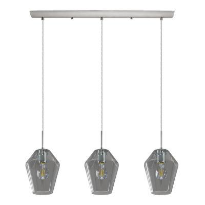 Eglo Murmillo 3-Light 30 inch Matte Nickel LinearPendant Ceiling Light