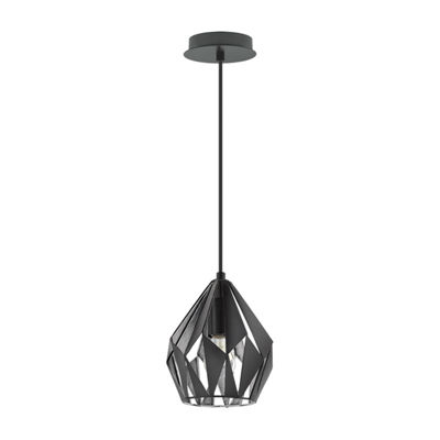 Eglo Carlton III 1-Light 7 inch Pendant Ceiling Light