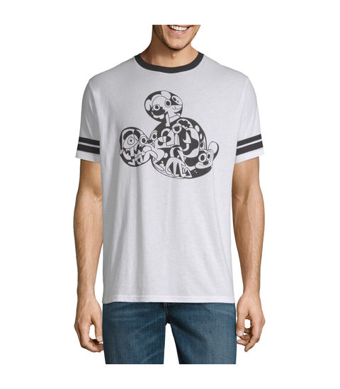 Jon Burgerman Mickey Mouse Graphic Tee