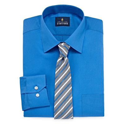 Stafford Box Shirt + Tie Set