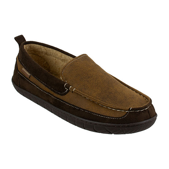 0ce6c0f22bd53 Dockers Men s Moccasin Slippers - JCPenney