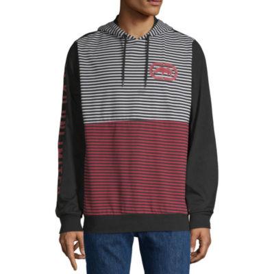 Ecko Unltd Long Sleeve Jersey Stripe Hoodie
