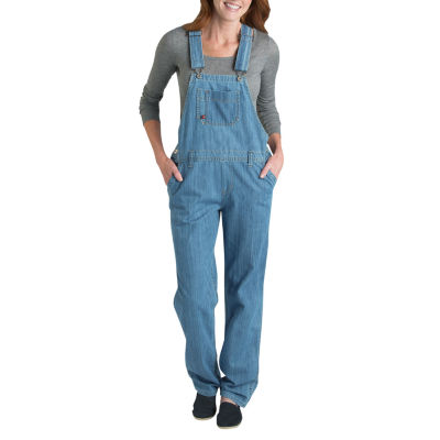 Dickies® Misses Relaxed-Fit Straight-Leg Denim Overall