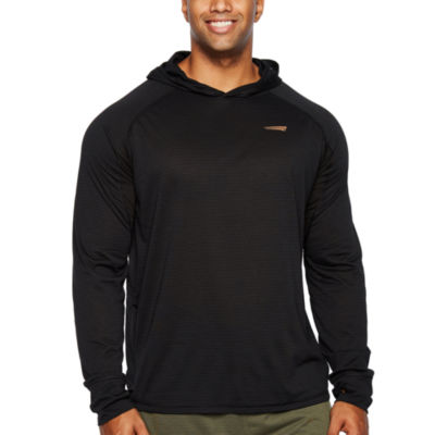 Copper Fit Long Sleeve Jersey Logo Hoodie-Big and Tall