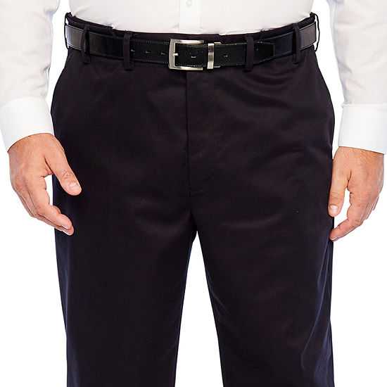IZOD-Big and Tall Mens Relaxed Fit Flat Front Pant