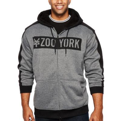 Zoo York Long Sleeve Fleece Hoodie-Big and Tall