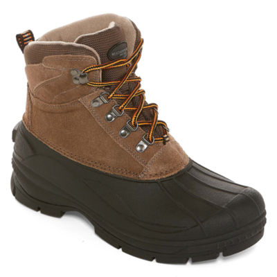 Weatherproof Mens Alpine II Winter Boots Water Resistant Insulated Lace-up